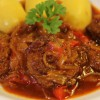 So kocht man ungarisches Gulasch  &#8211; Rindergulasch