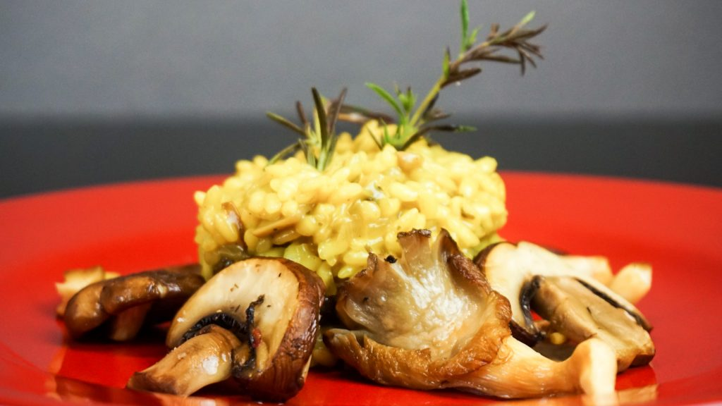 Pilz Risotto