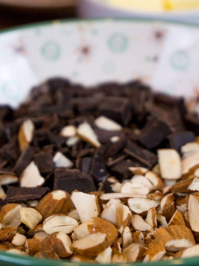 Mandeln-Schokolade