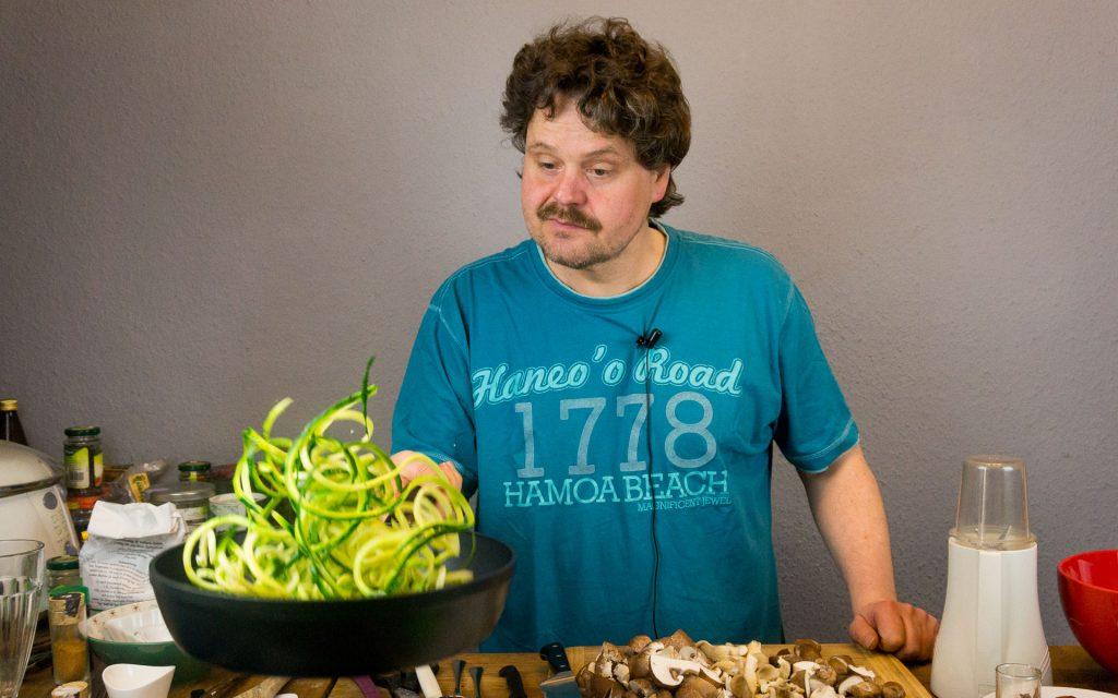 Michael Tokarski Zucchini Spaghetti