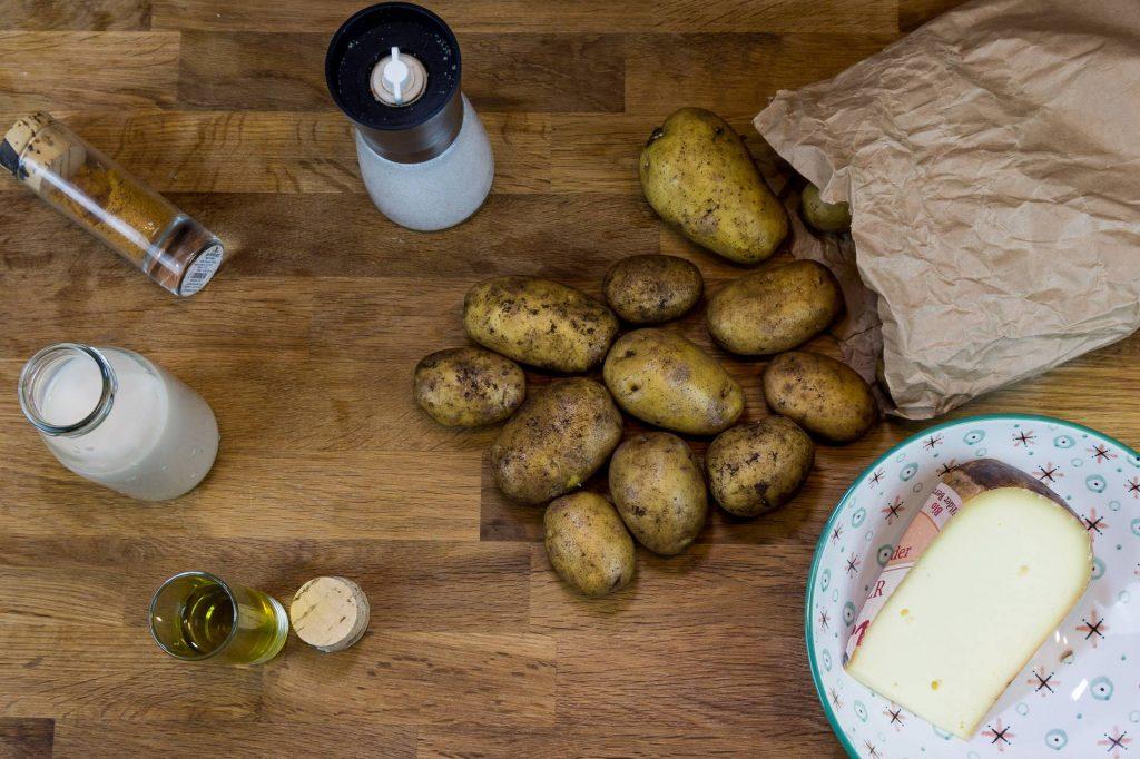 Kartoffelauflauf Zutaten