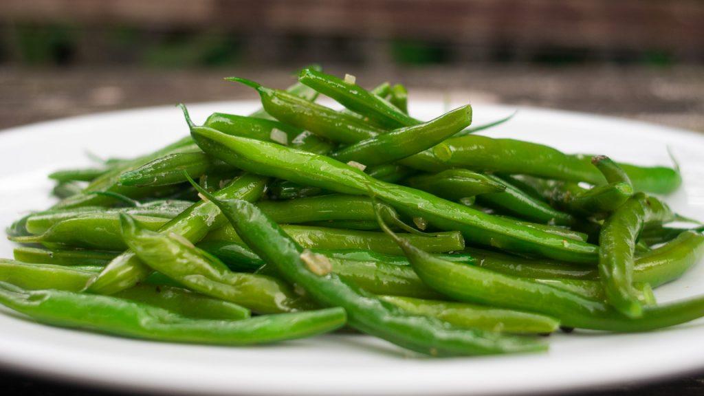 Grüne Bohnen gekocht