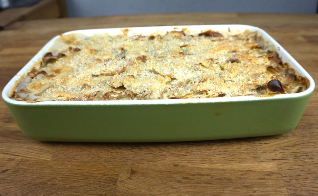 Kohlrabi-Kartoffel-Auflauf