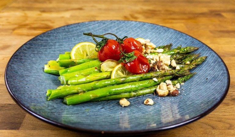 Grüner Spargel aus dem Ofen | schnelles und leckeres Rezept
