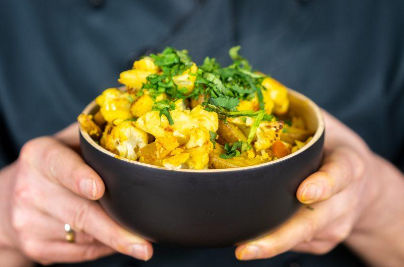 Aloo Gobi: Ein indisches Blumenkohl-Curry Rezept