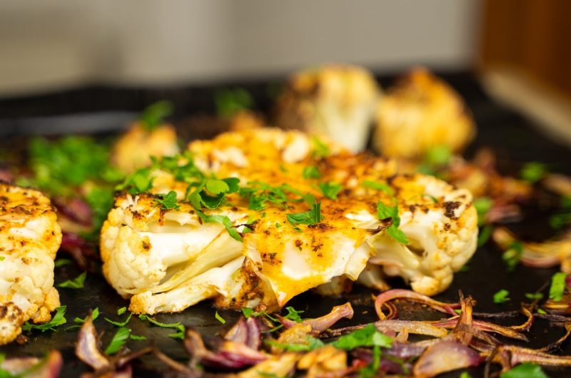 Blumenkohl-Steak: Leichte Sommer-Küche