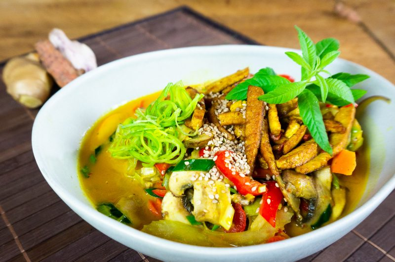 Schnelles Thai Curry vegan